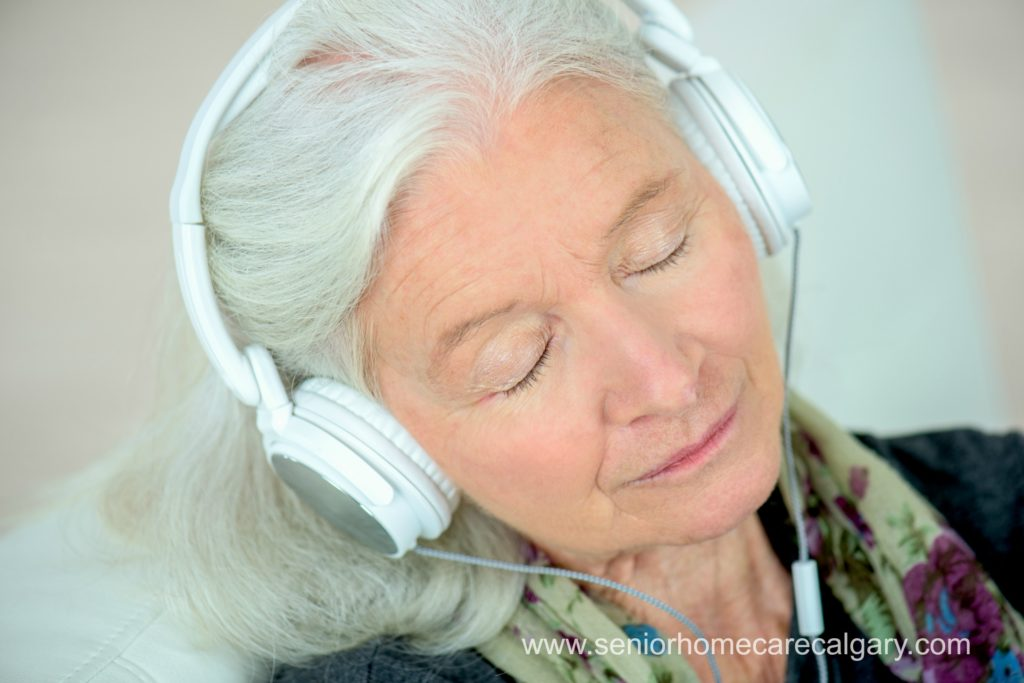 Music therapy for seniors with dementia
